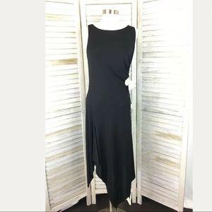 White House Black Market Handkerchief Dress Sz S